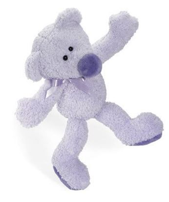 "Picture of Baby Beeps 15"" Violet Bear"