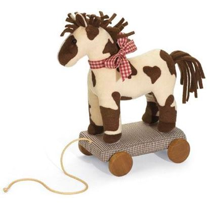 Picture of Baby Pull-a-Long® Pinto Pony
