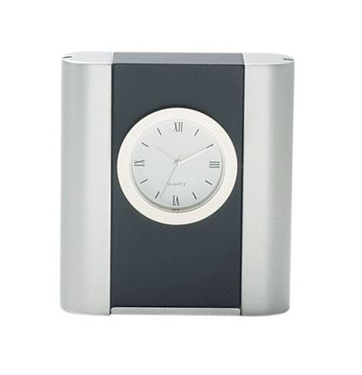 "Picture of ""Black Ice"" Desk Clock"