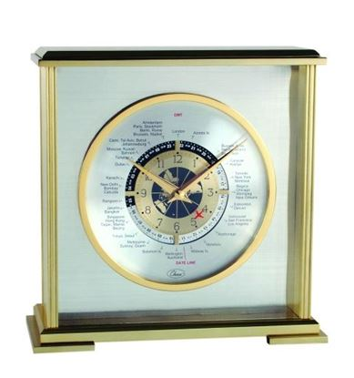 "Picture of ""Aviator World Time"" Clock"