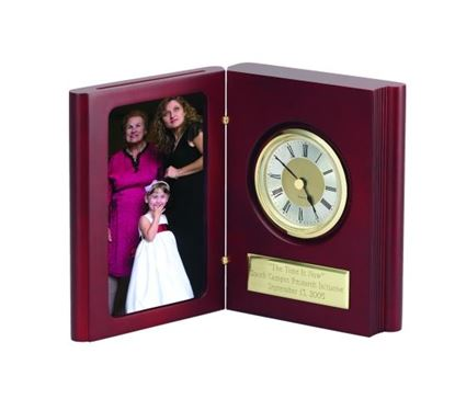 "Picture of ""Book of Time"" Clock & Photo Frame"