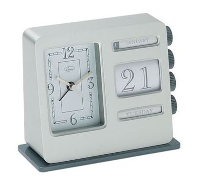 "Picture of ""Bank Calendar"" Alarm Clock"