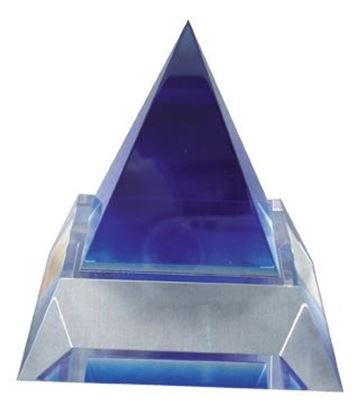 "Picture of ""Blue Pyramid"" Award"