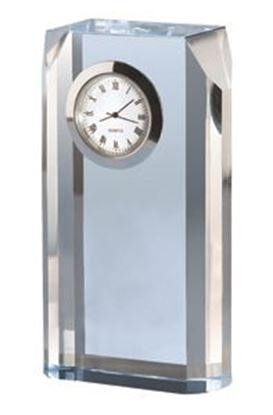 "Picture of ""Blue Mist"" Opti-Crystal Clock"