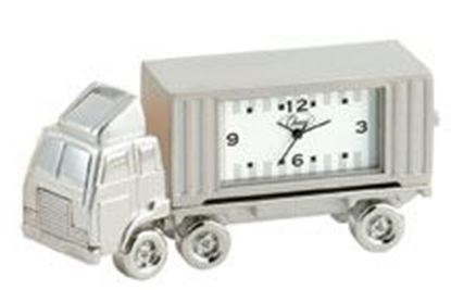 "Picture of ""18 Wheeler"" Mini Clock"