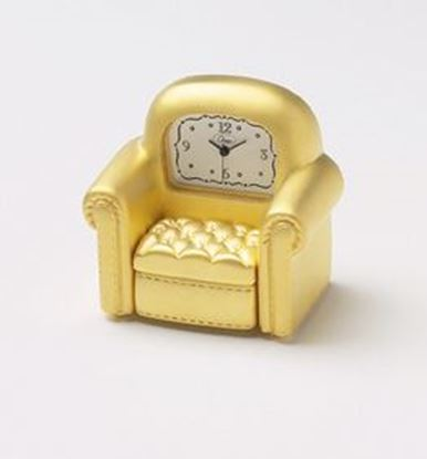 "Picture of ""Couch Potato"" Mini Clock"