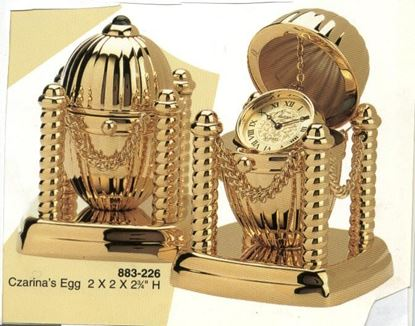 "Picture of ""Czarina's Egg"" Clock"