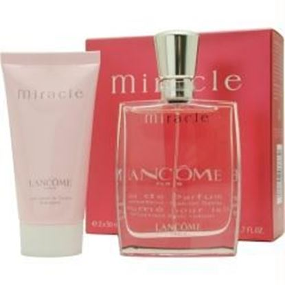 Picture of Miracle By Lancome Eau De Parfum Spray 1.7 Oz & Body Lotion 1.7 Oz (travel Offer)