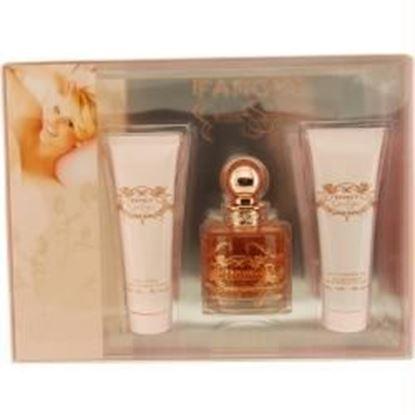 Picture of Fancy By Jessica Simpson Eau De Parfum Spray 3.4 Oz & Body Lotion 3 Oz & Shower Gel 3 Oz