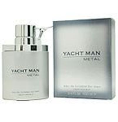 Picture of Yacht Man Metal By Myrurgia Edt Spray 3.4 Oz
