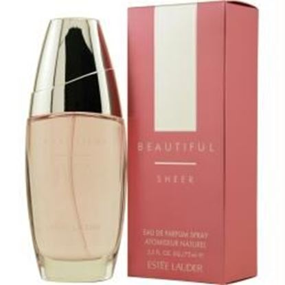 Picture of Beautiful Sheer By Estee Lauder Eau De Parfum Spray 2.5 Oz