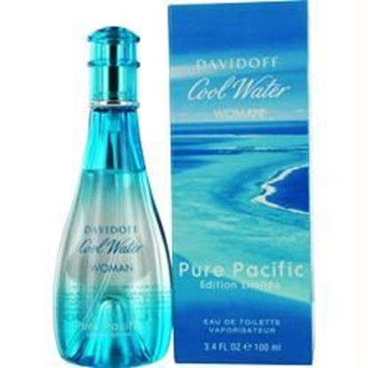 Picture of Cool Water Pure Pacific By Davidoff Edt Spray 3.4 Oz (limited Edition)