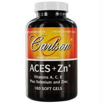 Picture of Aces + Zn Vitamins A, C, E Plus Selenium And Zinc- 180 Soft Gels