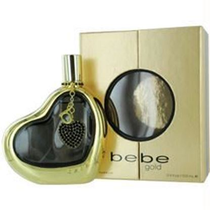 Picture of Bebe Gold By Bebe Eau De Parfum Spray 3.4 Oz