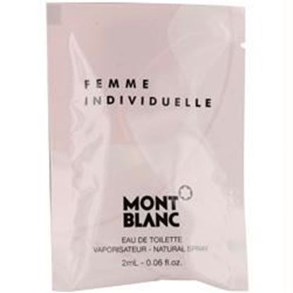Picture of Mont Blanc Individuelle By Mont Blanc Edt Spray Vial On Card Mini