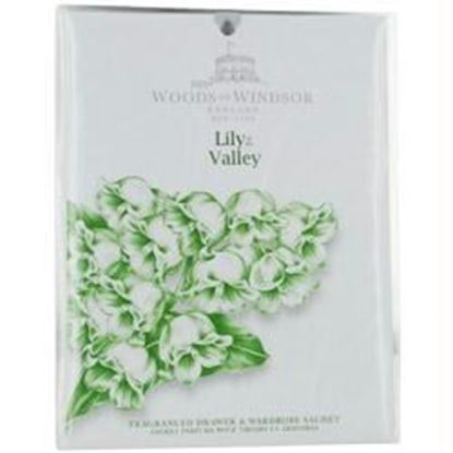 Picture of Woods Of Windsor Lily Of The Valley By Woods Of Windsor Drawer & Wardrobe Sachet