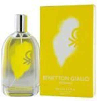 Picture of Benetton Giallo By Benetton Edt Spray 3.4 Oz