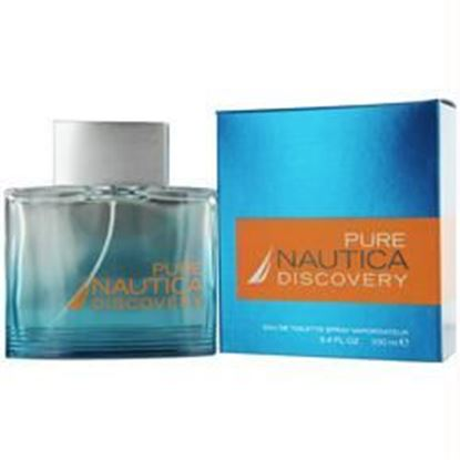 Picture of Nautica Pure Discovery By Nautica Edt Spray 3.4 Oz