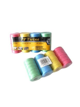 Picture of Colored twine, 4 rolls, 54 yards (Available in a pack of 12)