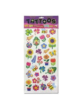 Picture of Flower temporary tattoos (Available in a pack of 24)