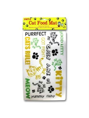 Picture of Cat food mat (Available in a pack of 24)