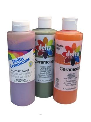 Picture of 8-ounce bottle of acrylic paint. (Available in a pack of 24)