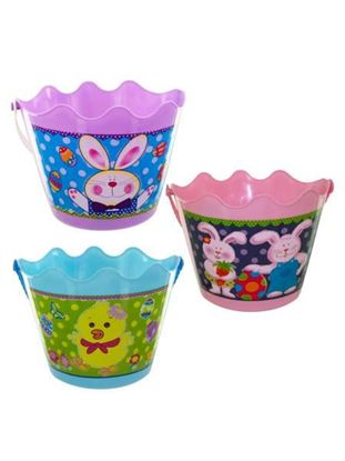 Picture of Easter bucket with handle (Available in a pack of 12)