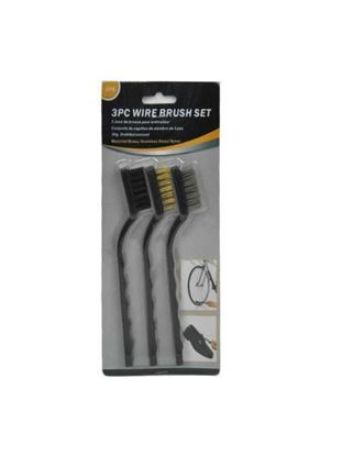 Picture of Wire brush set, pack of 3 (Available in a pack of 24)