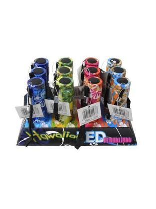 Picture of Hawaiian design LED flashlight (Available in a pack of 4)