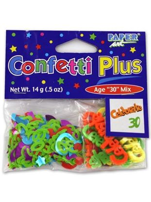 Picture of 30th birthday confetti (Available in a pack of 24)