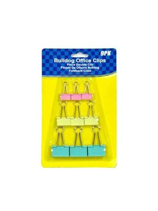 Picture of Bulldog clips, pack of 9 (Available in a pack of 24)