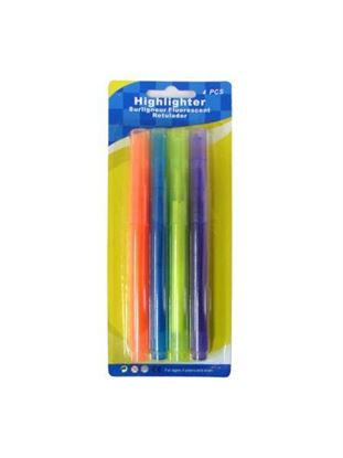 Picture of Highlighters, pack of 4 (Available in a pack of 24)