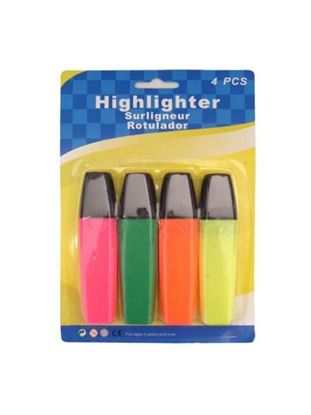 Picture of Highlighters, pack of 4 (Available in a pack of 12)