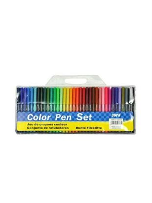 Picture of Marker pen set, pack of 36 (Available in a pack of 8)