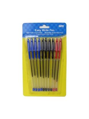 Picture of Easy write pens, pack of 10 (Available in a pack of 12)