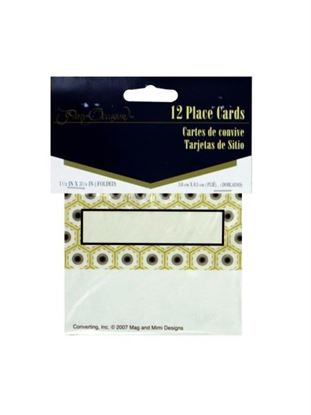 Picture of Deco placecards, pack of 12 (Available in a pack of 24)