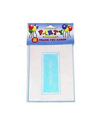 Picture of Thank You cards, pack of 8 (Available in a pack of 24)