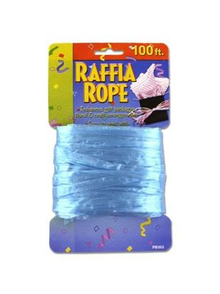 Picture of Raffia ribbon rope, 100 feet (Available in a pack of 24)
