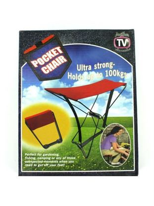 Picture of Folding Pocket Chair (Available in a pack of 4)