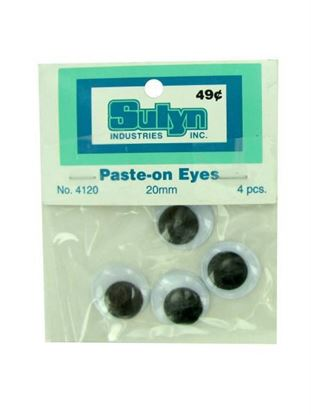Picture of Jumbo googly eyes (Available in a pack of 24)