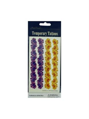 Picture of Floral temporary tattoos (Available in a pack of 24)