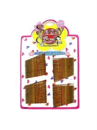 Picture of Gold bobby pins (Available in a pack of 24)