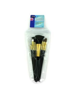 Picture of Cosmetic brushes in case (set of 7) (Available in a pack of 24)