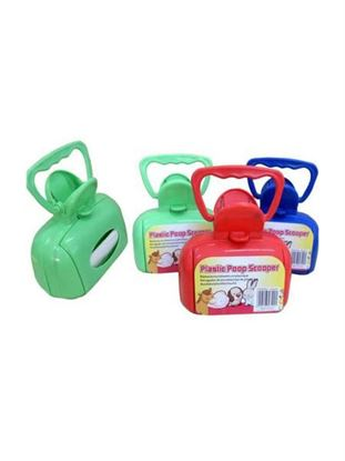 Picture of Plastic pooper scooper (Available in a pack of 4)