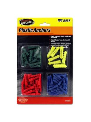 Picture of Plastic anchors (Available in a pack of 24)