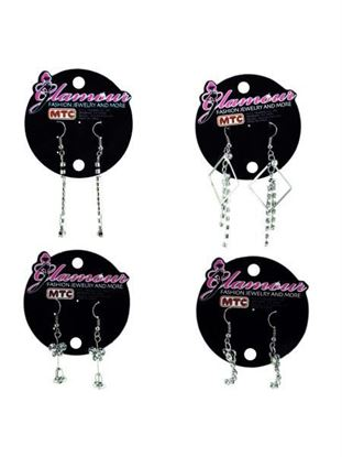 Picture of Fashion earrings pf1340 (Available in a pack of 24)