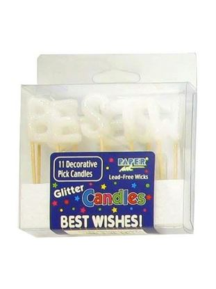 Picture of Best wishes candles (Available in a pack of 24)