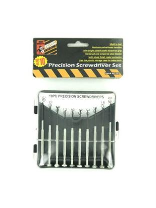 Picture of 10 Piece precision screwdriver set (Available in a pack of 24)