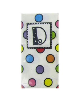 Picture of D monogram pocket hankies (Available in a pack of 50)