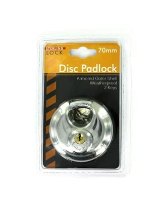 Picture of Deluxe disc padlock (Available in a pack of 3)